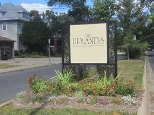 New Uplands Sign